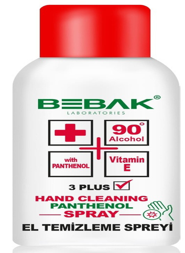 Bebak Bebak Hand Cleaning Spray 150ml Renksiz